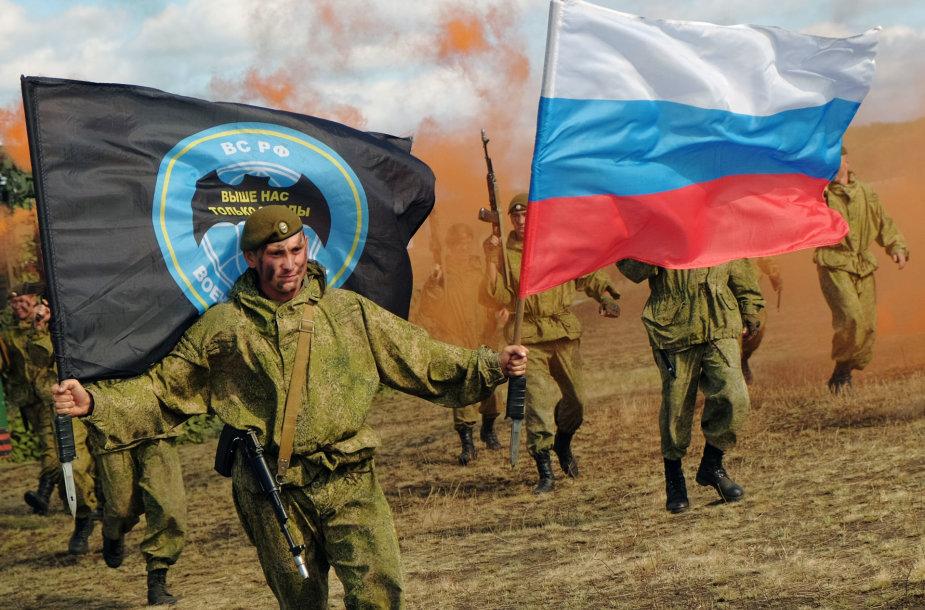 Rusijos kariai per pratybas