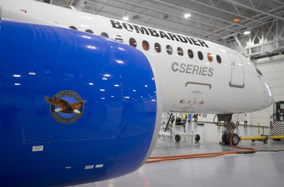 """""""Bombardier"""" """"C – Series"""" lėktuvas"""