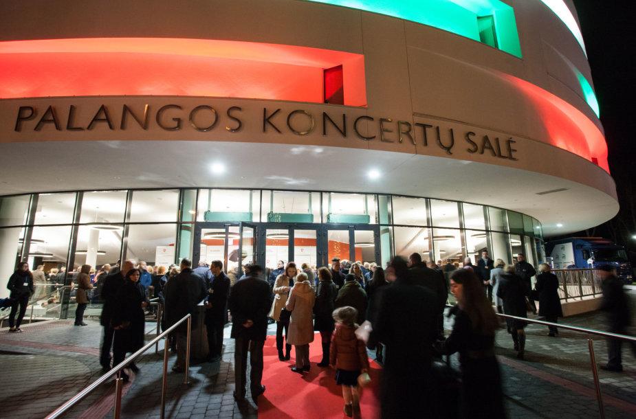 Koncertų salės atidarymas Palangoje