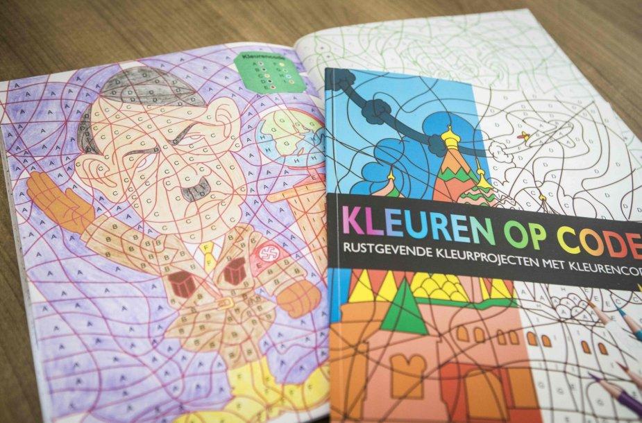 Olandijoje iš prekybos atšaukiamos vaikiškos spalvinimo knygelės su Hitlerio atvaizdu.