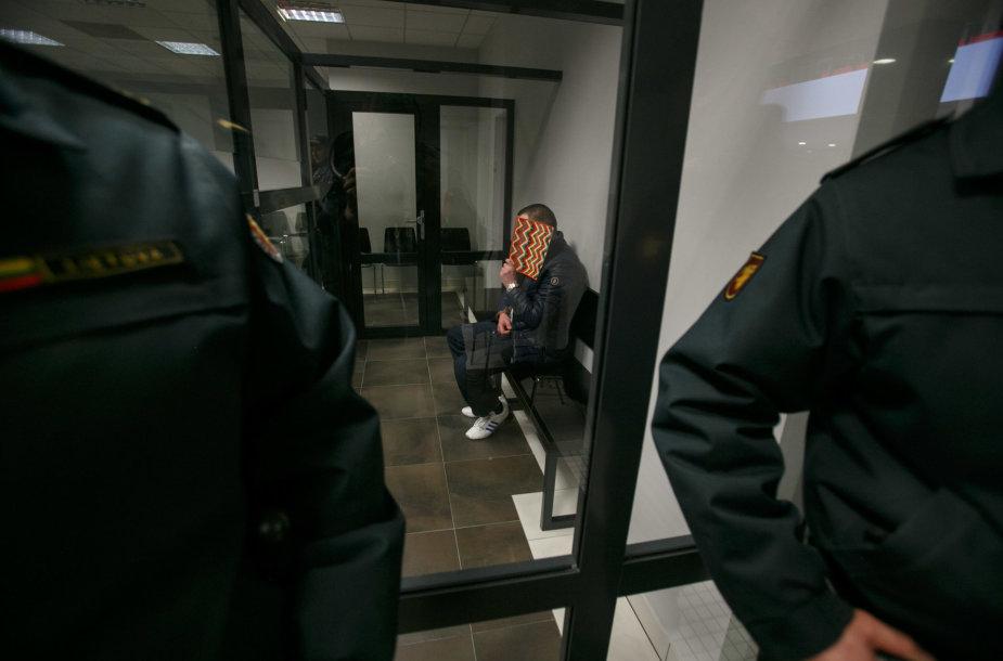 Nerijus Kalaušis teisme