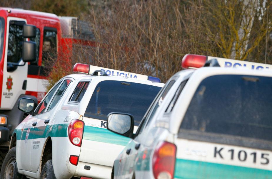Kauno rajone nukrito orlaivis