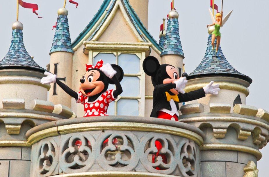 Walto Disney'aus personažai – peliukai Minė ir Mikis