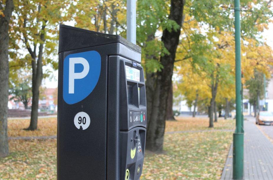 Parkomatas Klaipėdoje