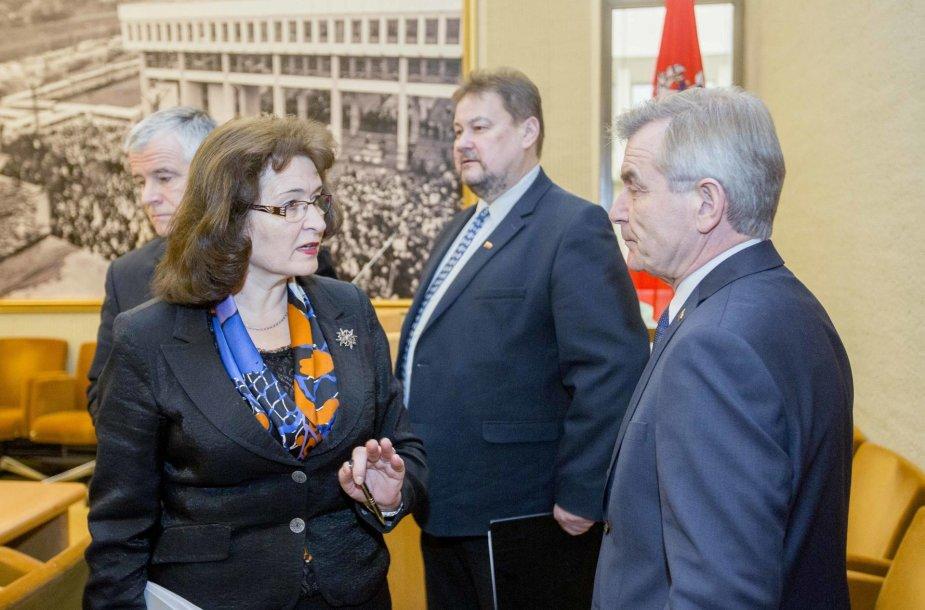 LVŽS frakcijos posėdis dėl vaiko teisių apsaugos sistemos reformos.