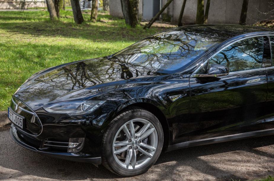"""Vilniečio Tomo """"Tesla Model S"""""""