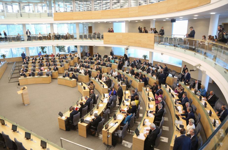 Seimas pradėjo rudens sesiją