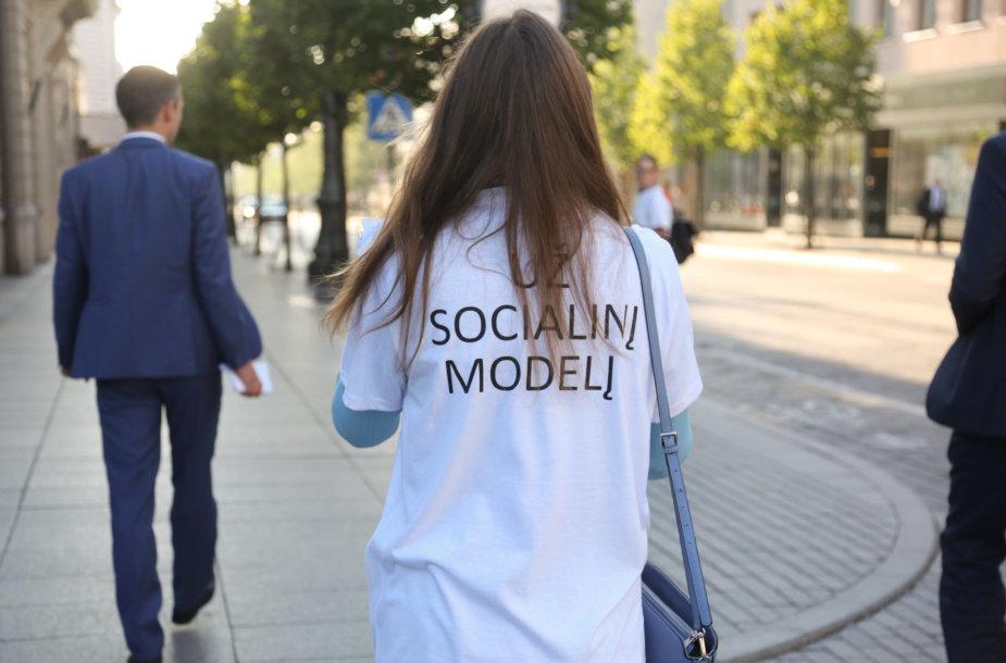 Socialinio modelio palaikymo akcija