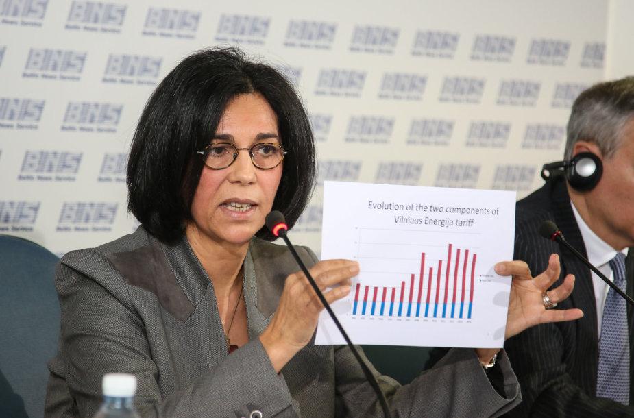 """""""Veolia"""" viceprezidentė Centrinei ir Rytų Europai Malika Ghendouri"""