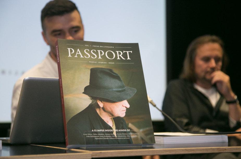 """Leidinio """"PASSPORT"""" pristatymas"""