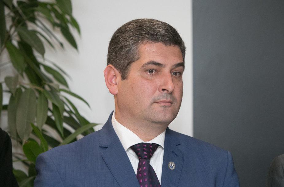 Neringos meras Darius Jasaitis