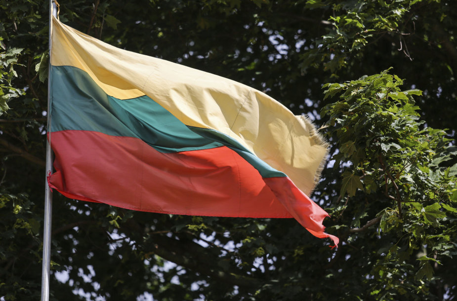 Trečiadienį LFF stadione Vilniuje kabanti Lietuvos vėliava