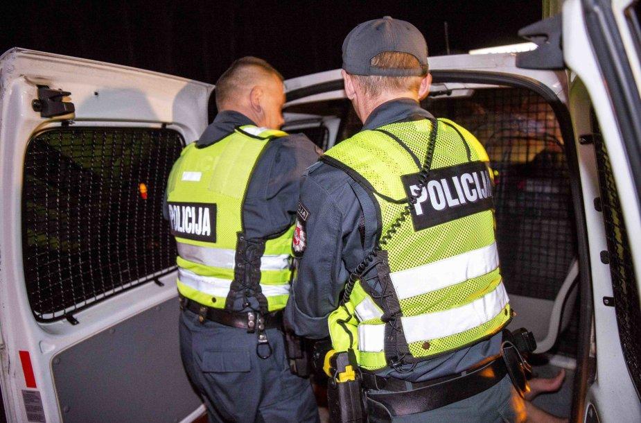 Naktinis Vilniaus kelių policijos reidas
