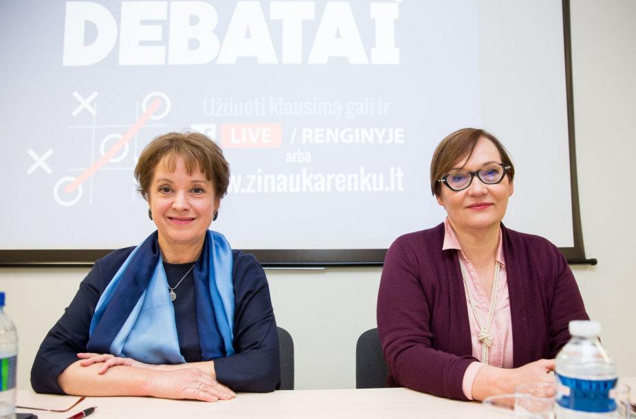 Aušra Maldeikienė ir Vilija Aleknaitė-Abramikienė