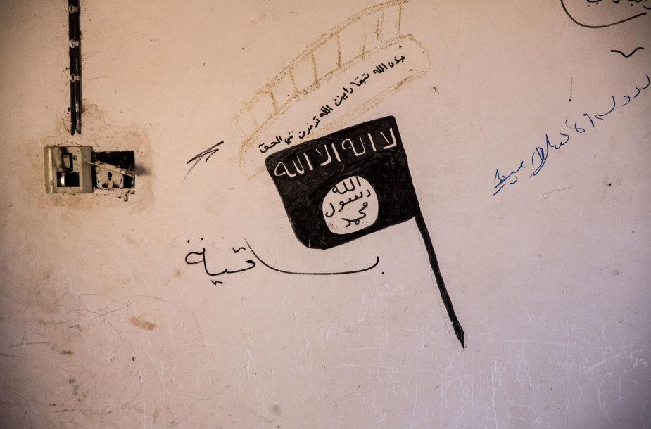 """Islamo valstybės"" vėliava"