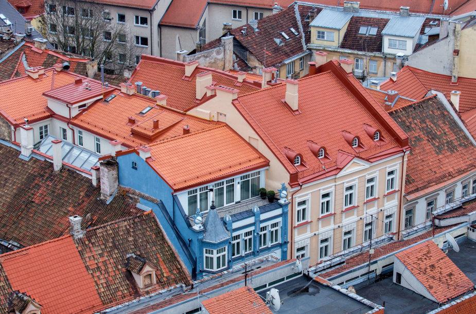 Vilniaus senamiesčio stogai