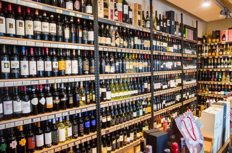 Alkoholio parduotuvė