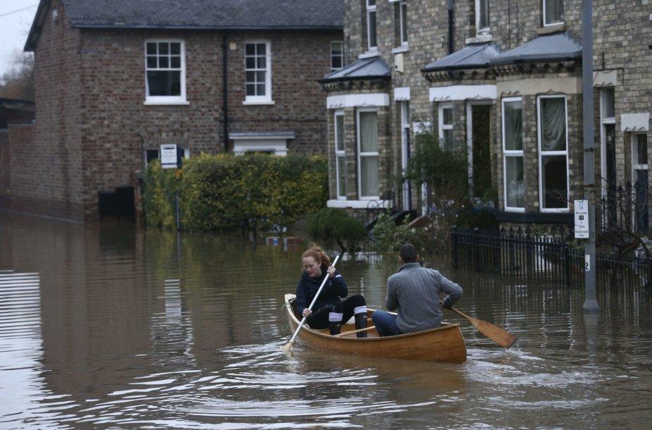 Potvynis Anglijoje