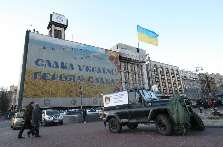 Kijeve gyvena daugybė pabėgėlių iš Donecko ir Donbaso