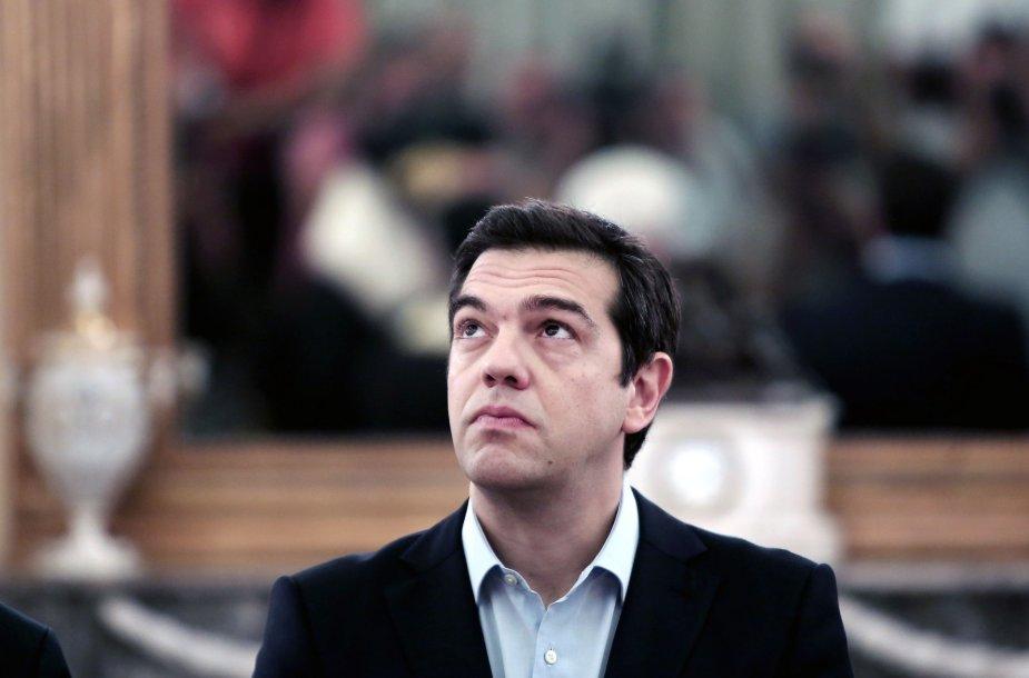 Graikijos premjeras Aleksis Cipras