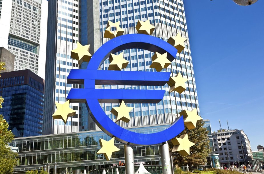 ECB pastatas Frankfurte prie Maino