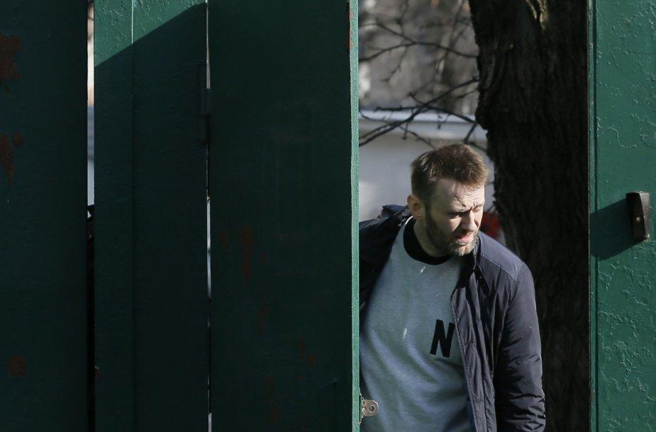 A.Navalnas paleistas iš kalėjimo.