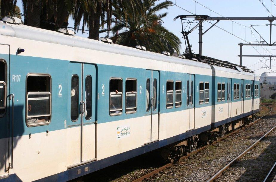 Traukinys Tunise.