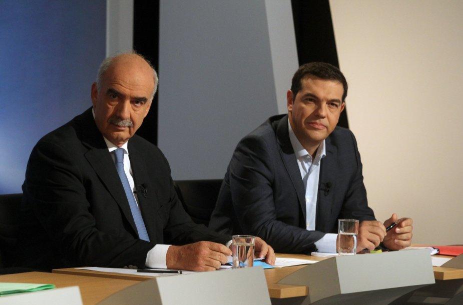 V.Meimarakis ir A.Cipras