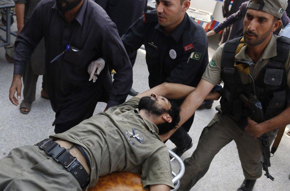 Išpuolio Pakistane aukos