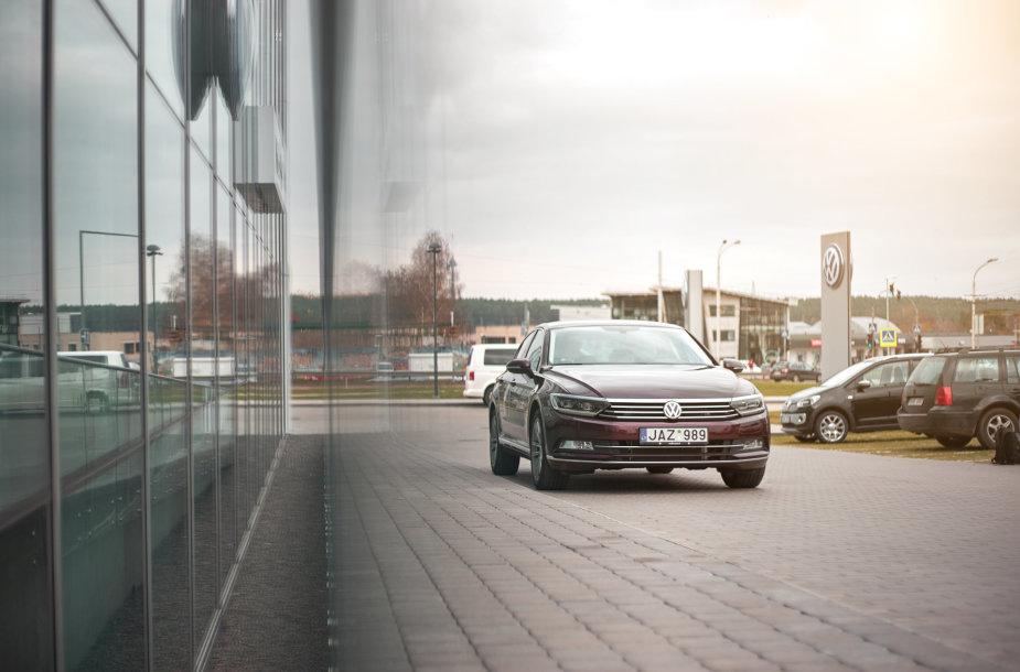 "Europos metų automobilis 2015 ""Volkswagen Passat B8 1,8 TSI"""