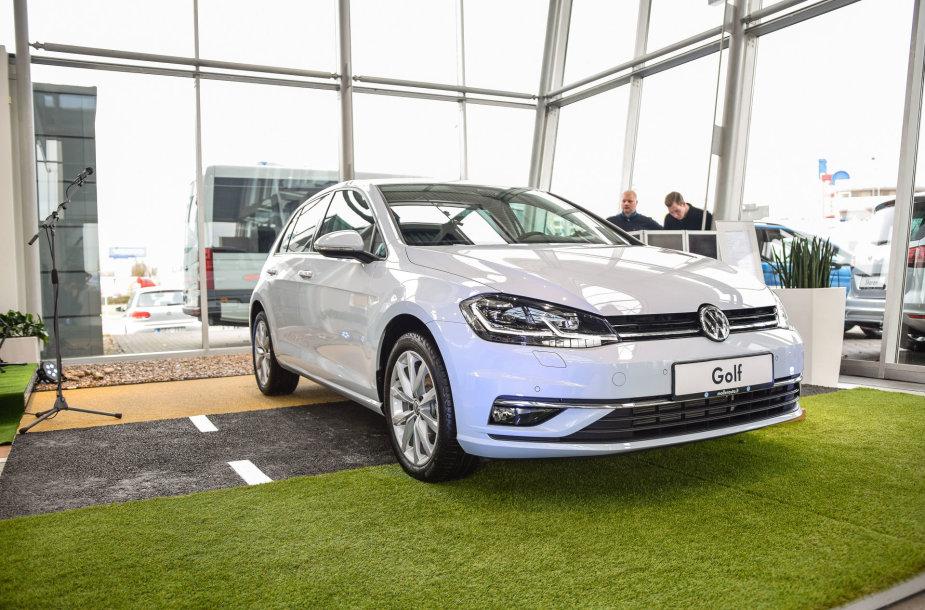 "Atnaujintas ""Volkswagen Golf"""