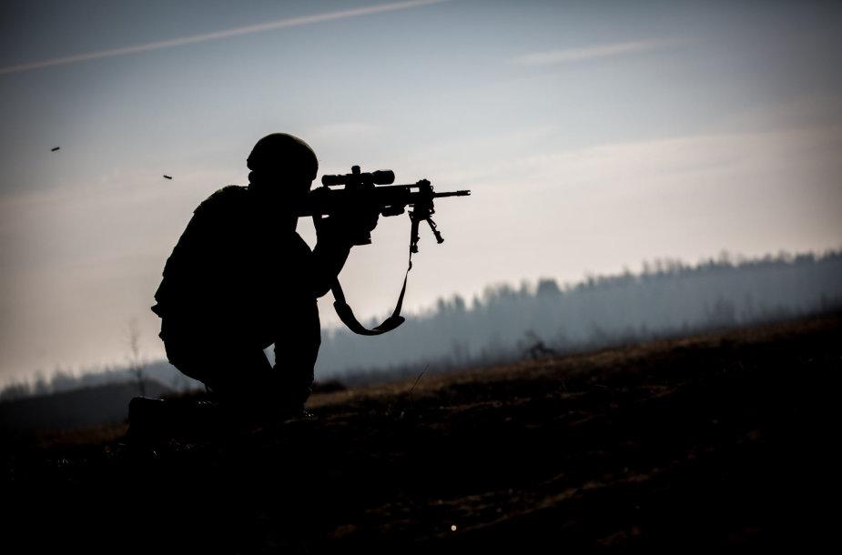 Lietuvos kariuomenės taiklusis šaulys