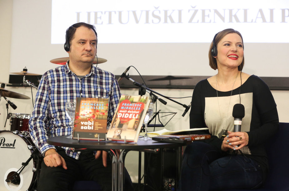 """Francesco Miralleso knygų """"Maži dalykai dideli"""", """"Vabi sabi"""" pristatymas Vilniaus knygų mugėje"""