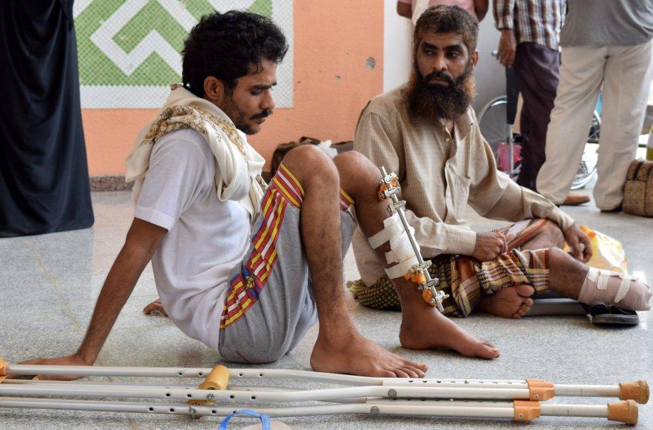 Sužeistieji Jemene