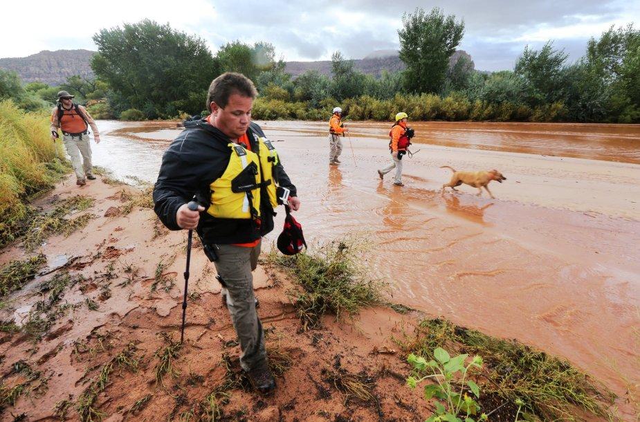 Jutos valstijoje staigus potvynis pražudė 15 žmonių