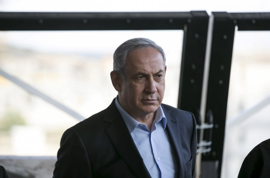 21. Izraelio premjeras Benjaminas Netanyahu