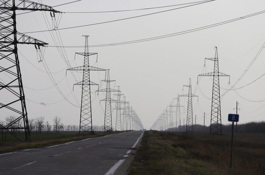Krymas be elektros energijos