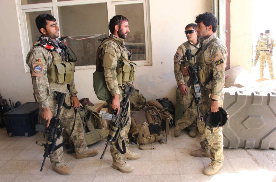 Afganistano specialiosios pajėgos ir kariuomenė Kundūze
