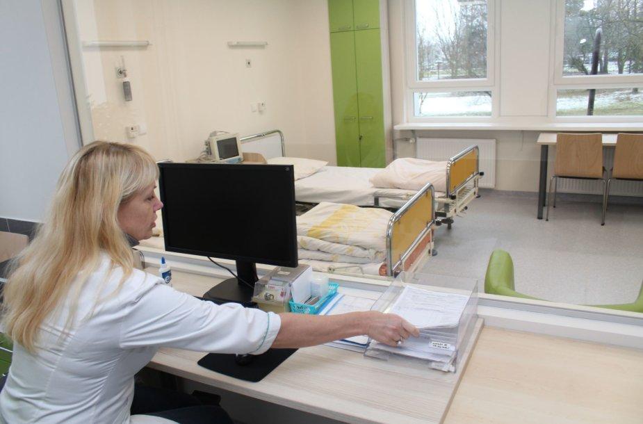 Kauno klinikinėje ligoninėje Vaikų priėmimo ir skubios pagalbos skyrius perkeltas į naujas patalpas