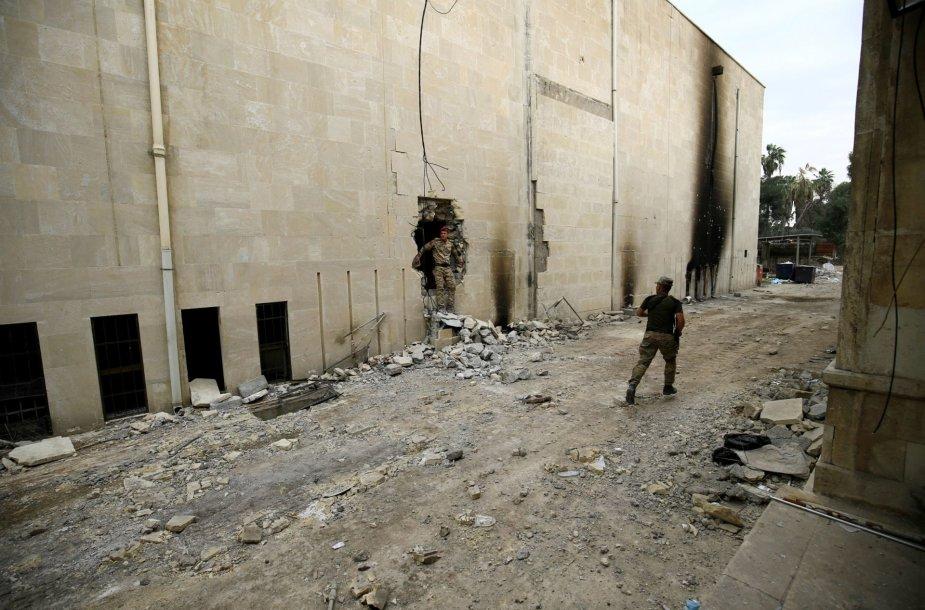 Suniokotas muziejus Mosule
