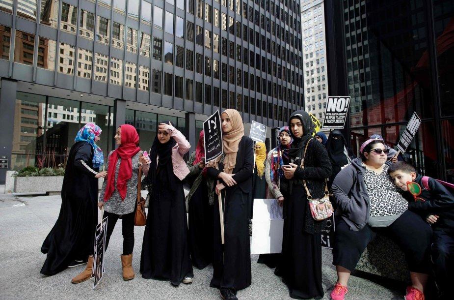 Mitingas musulmonams paremti
