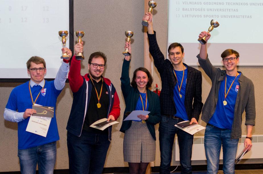 Sumaniausių studentų titulas atiteko Lietuvos sveikatos mokslų universiteto atstovams
