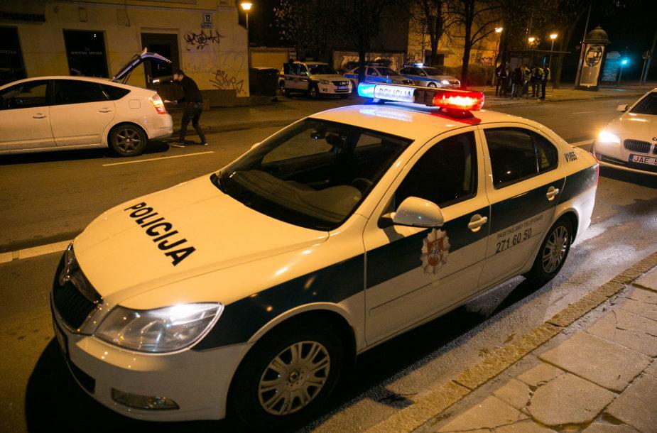 Velykų nakties policijos reidas Vilniuje