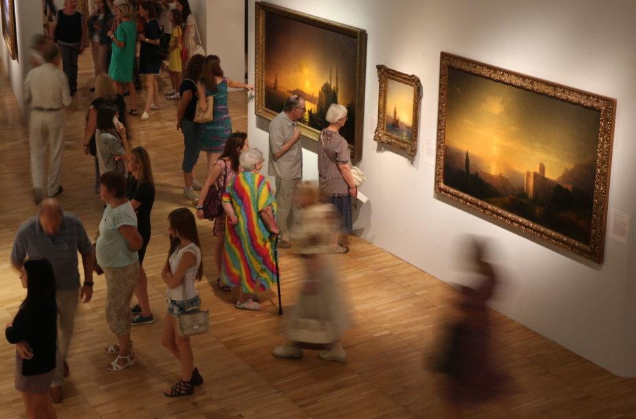 Ivano Aivazovskio darbų parodoje