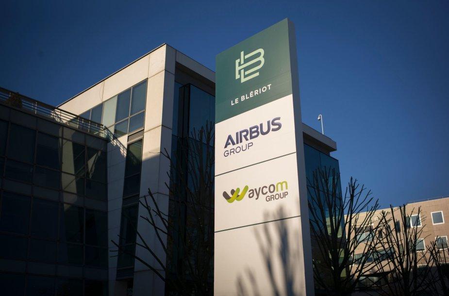"""""""Airbus Group"""" būstinė Paryžiuje"""