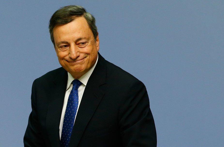 11.  Mario Draghi – Europos centrinio banko vadovas