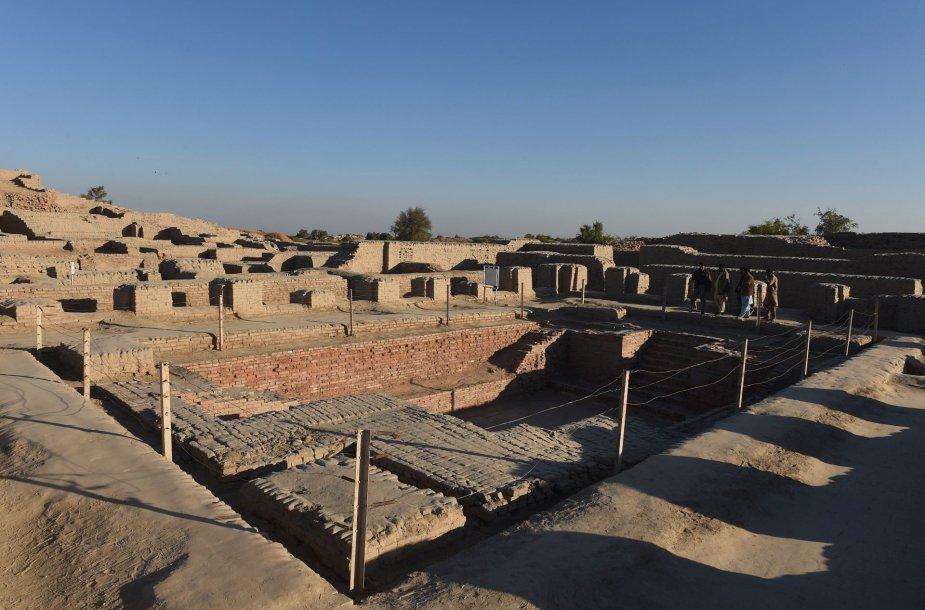 Mohendžo Daro miesto griuvėsiai