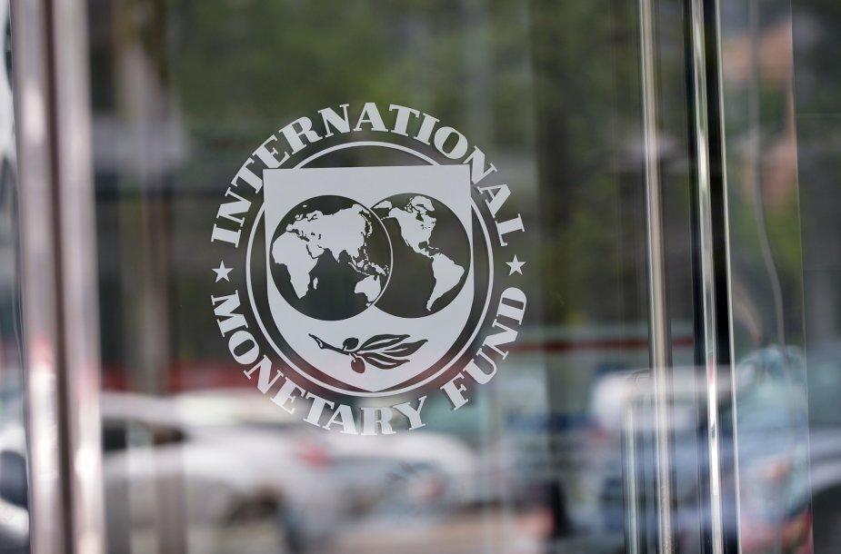 """""""Tarptautinio valiutos fondo"""" logotipas"""