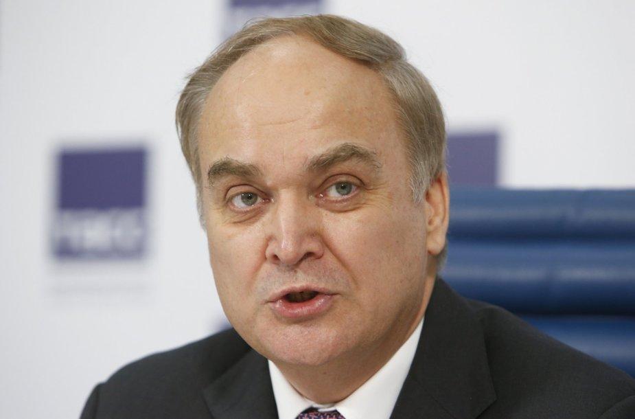 Rusijos krašto apsaugos viceministras Anatolijus Antonovas.