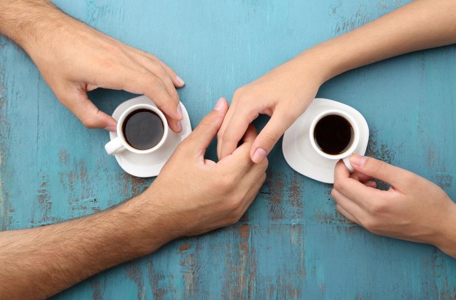 Pora geria kavą